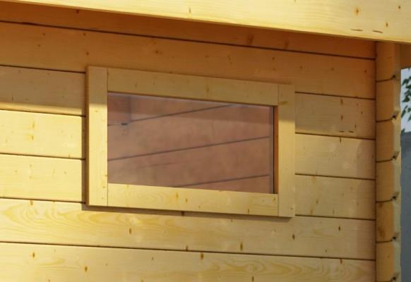 Längliches feststehendes Fenster, quer 38/40mm