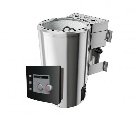 Plug&Play Bio-Ofen / elektronischer Außensteuerung 3,6 kW modern