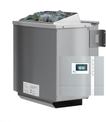 Sparset Biokombiofen 9 kW + Steuergerät Premium Bio