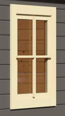 38 mm gerades Fenster