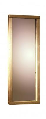68mm Saunafenster - bronziert