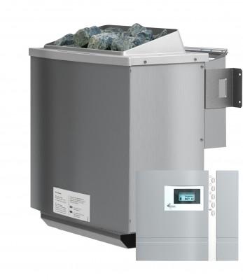 Biokombiofen 4,5 kW inkl Steuergerät Premium Bio