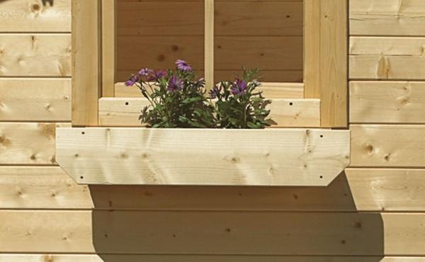 Holzblumenkasten