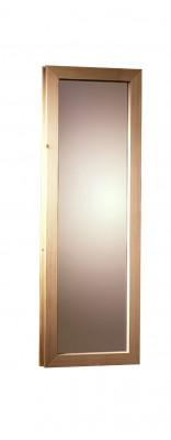 38/40mm Saunafenster - bronziert